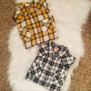 Set of flannels (medium)